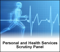 Link to the Personal and Health Scrutiny Panel Webpage