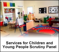 Link to the Services for Children and Young People Scrutiny Panel Webpage